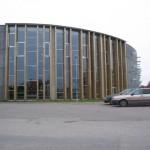 Alumiiniumfassaadi montaaž Lasnamäe Kergejõustiku Spordihoone