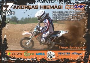 Motokross Andreas Hiiemägi