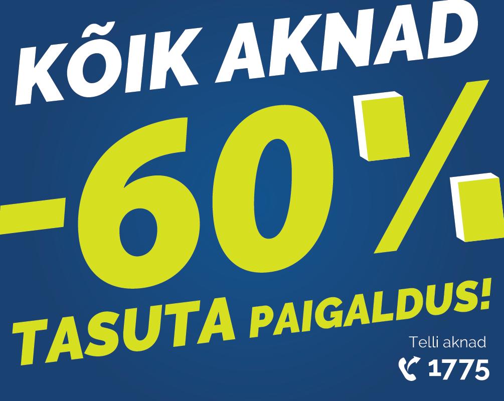 kõik aknad -60%